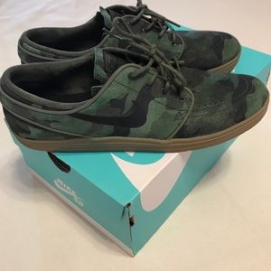 hot sale online e3171 7f5d0 Nike Shoes - Nike SB Lunar Stefan Janoski QS - Camo Print